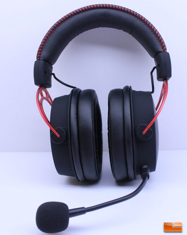 HyperX Cloud Alpha - Front View w/Mic