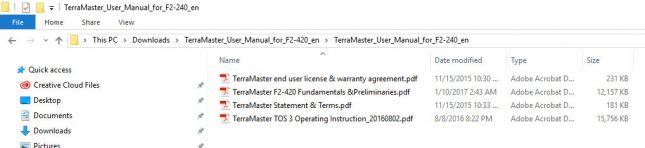 Đánh giá và thử nghiệm thiết bị lưu trữ NAS TerraMaster F2-420