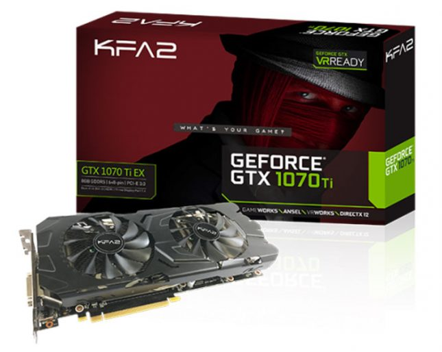 KFA2 GeForce GTX 1070 Ti