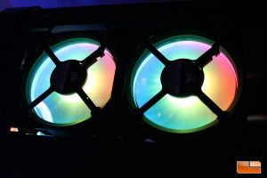 LL120 RGB - View from the back of the fans