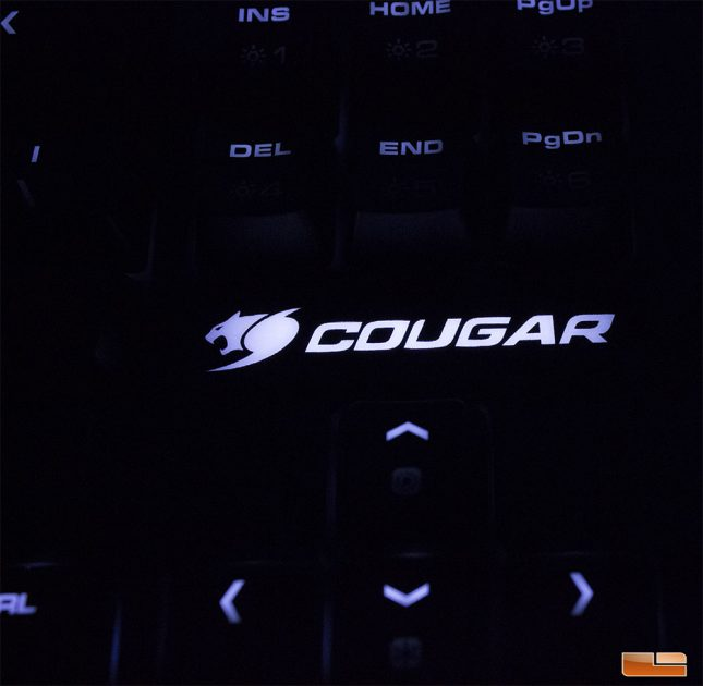 Cougar Puri TKL - White LED Logo