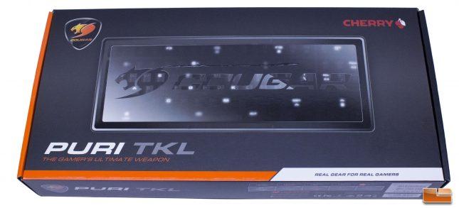 Cougar Puri TKL Gaming Keyboard - Retail Box