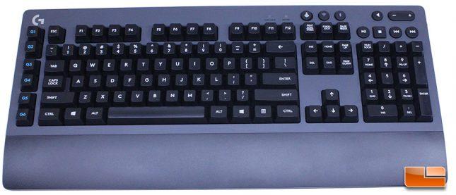The Logitech G613 - US 108 Key Layout