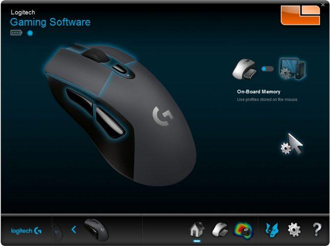 G603 - LGS Main Screen