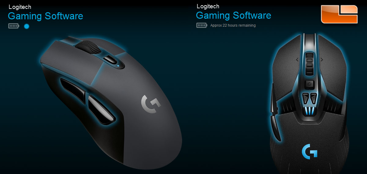 Logitech G603 and G613 LightSpeed Wireless Mouse and