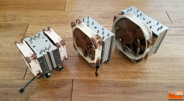 Noctua Ryzen Threadripper CPU Air Coolers