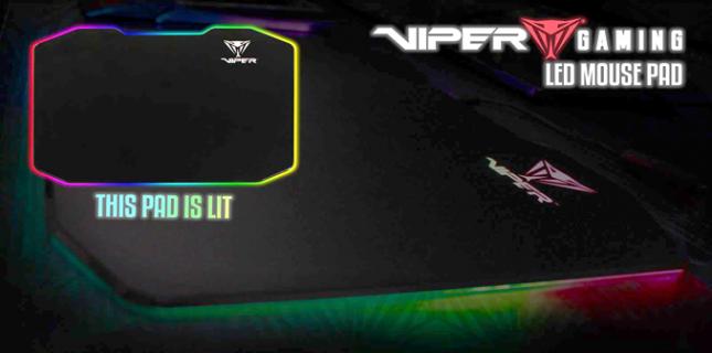 Viper LED RGB MousePad