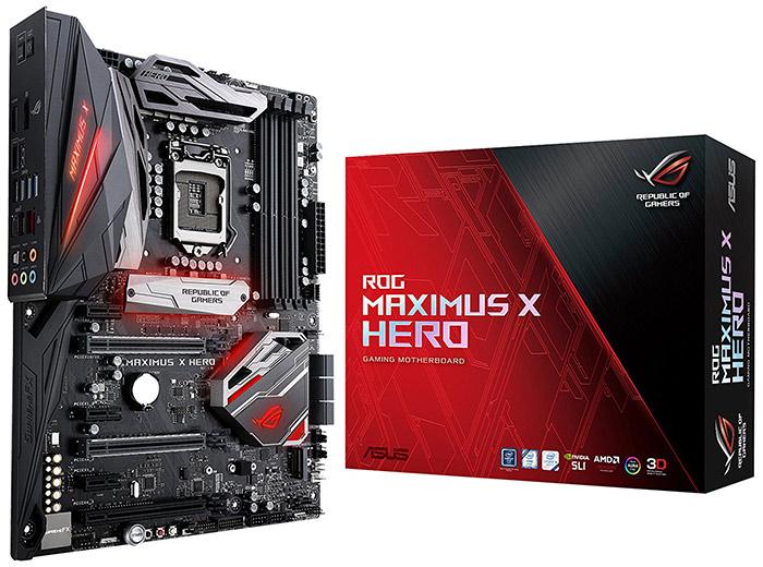 ASUS ROG Maximus X Hero Z370 Motherboard Review - Legit ReviewsThe