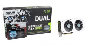 Dual series GeForce GTX 1060