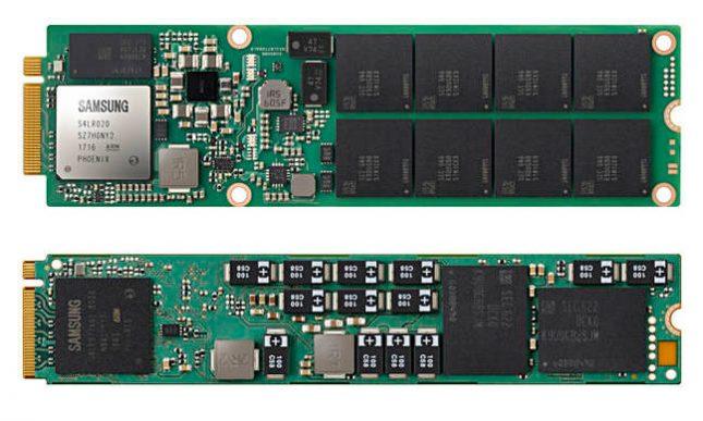 Samsung 8TB NGSFF NVMe SSD