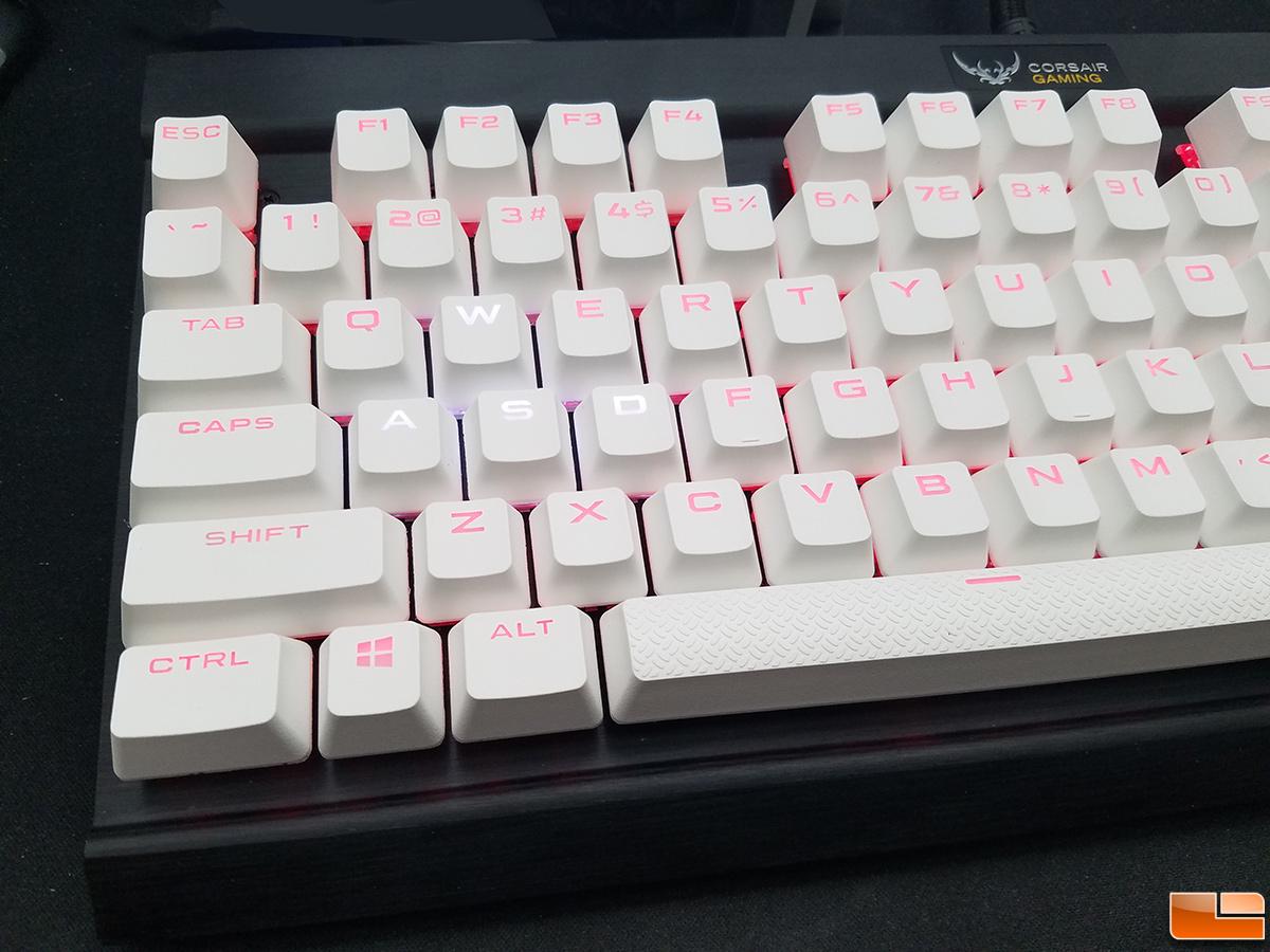 CORSAIR PBT Double-shot Keycaps Full 104//105-Keyset