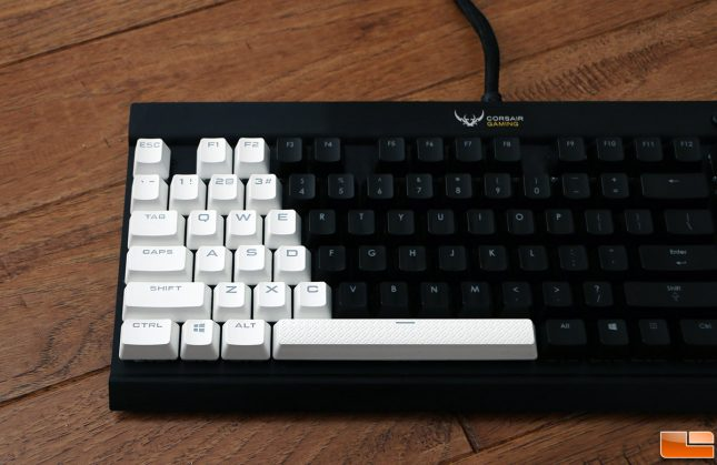 Corsair K70 Gaming Keyboard With PBT Doubleshot Keycaps