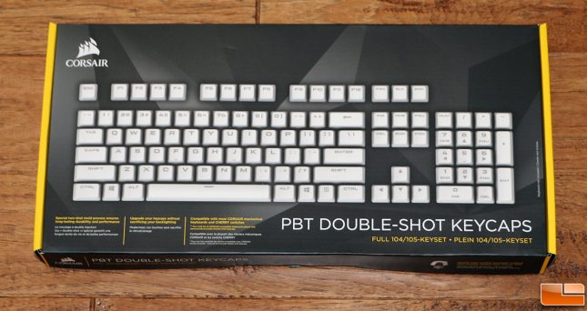 CORSAIR GAMING PBT Double-shot Keycaps