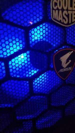 Corsair ML140 - Blue Grille
