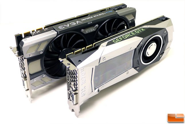 GeForce GTX 1070 Ti Video Cards by NVIDIA and EVGA