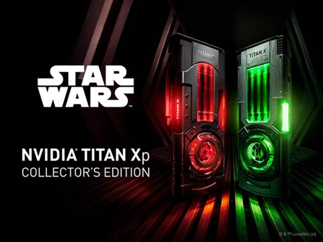 NVIDIA Titan Xp - Star Wars Limited Edition Cards