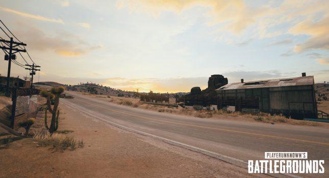 PUBG Desert Map Screenshot