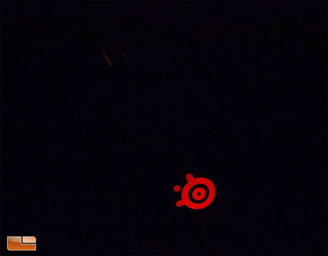SteelSeries Rival 310 - Red Static LED Mode Enabled