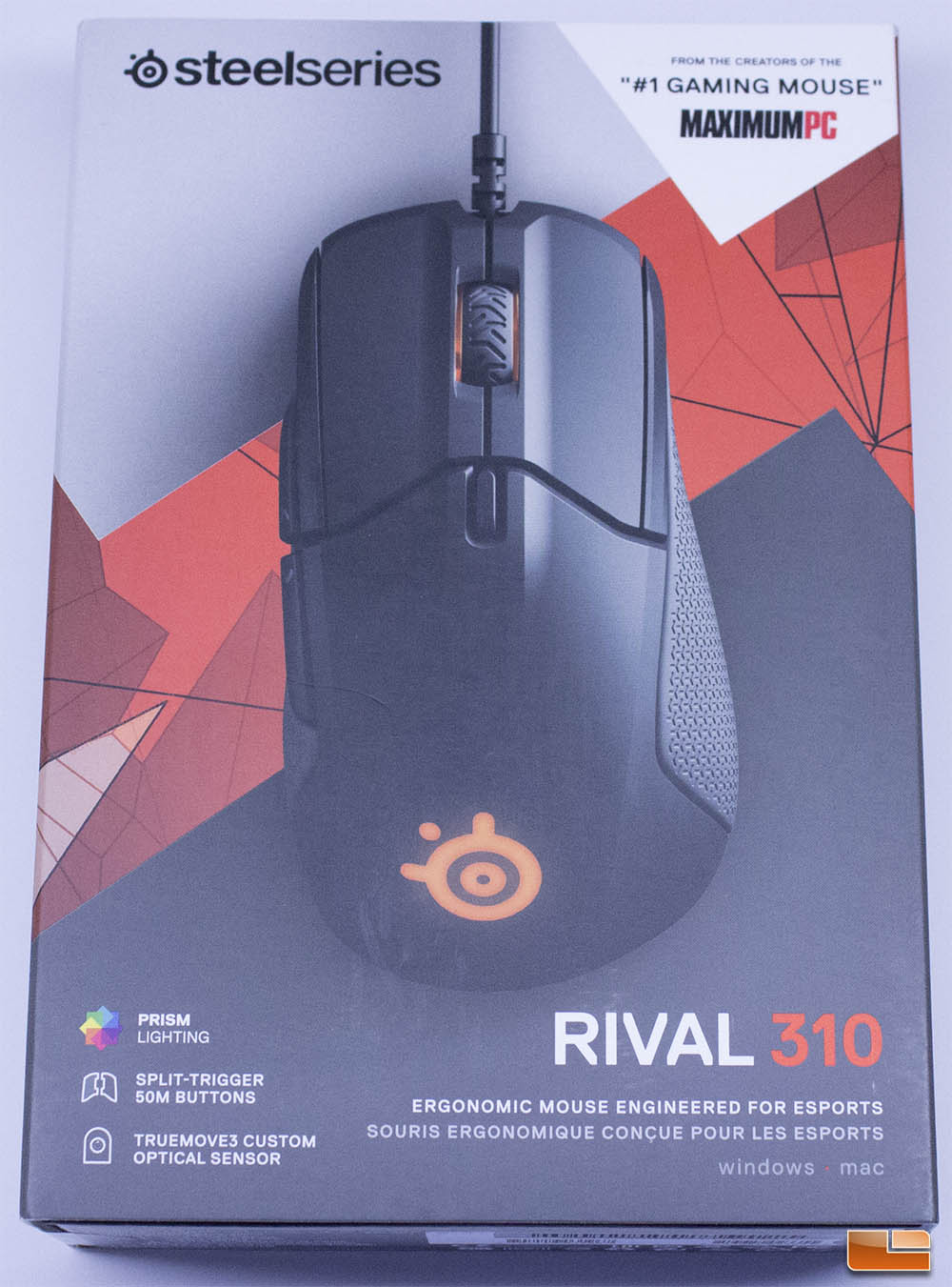 8e6110d0145 SteelSeries Rival 310 Ergonomic Gaming Mouse Review - Legit ...