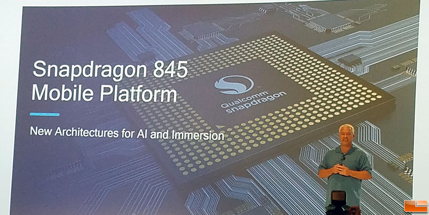 Qualcomm Snapdragon 845 SoC Promises To Boost Performance