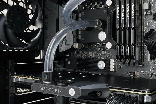 EK-M.2 NVMe Heatsink - Visually Appealing SSD Cooling