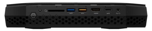 Intel NUC8i7HVK Front Panel
