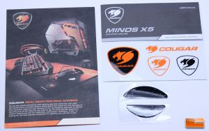Cougar Minos X5 Gaming Mouse - Accessories