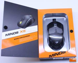 Cougar Minos X5 - Retail Box