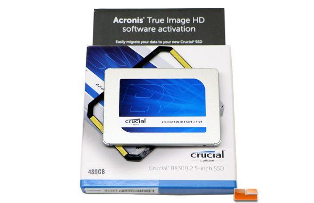 Crucial BX300 SSD Retail Box