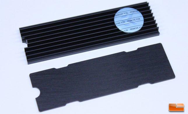 EKWB M.2 NVMe Heatsink - Backplate