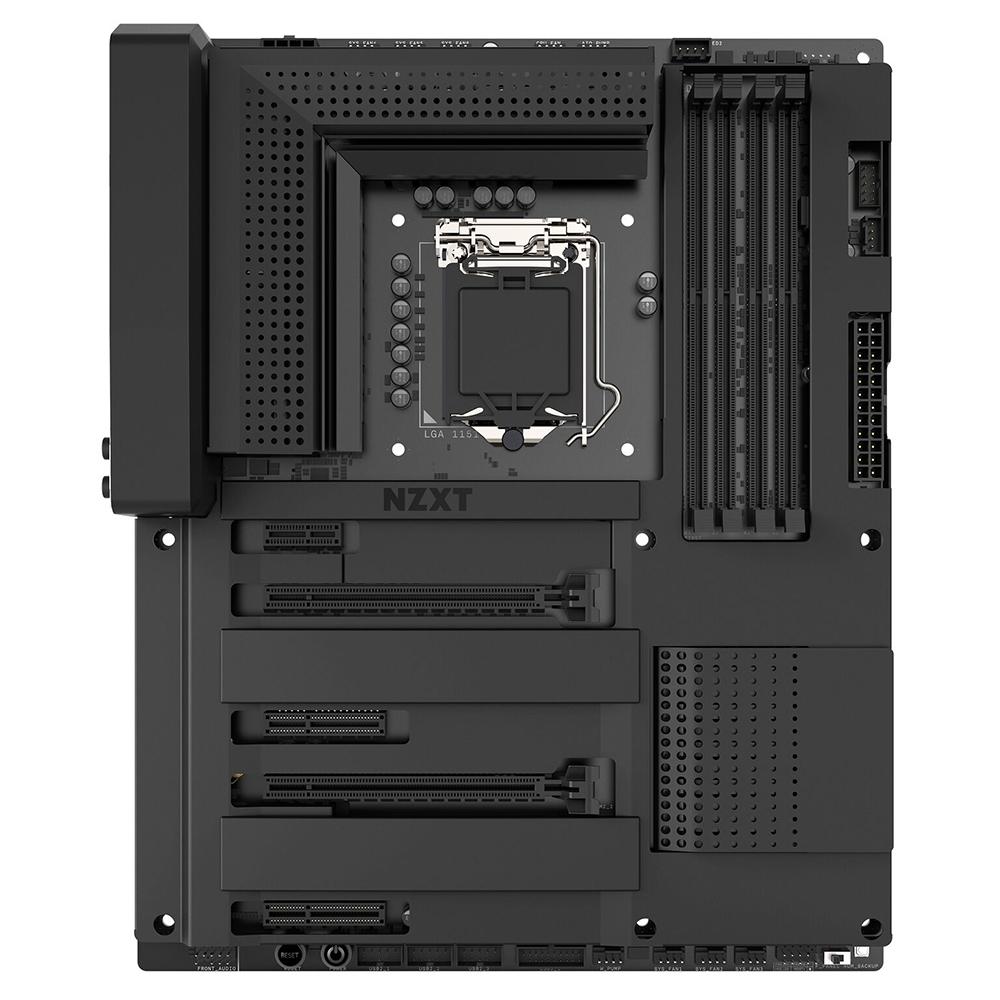 Nzxt Announces Cam Powered N7 Z370 Motherboard Legit