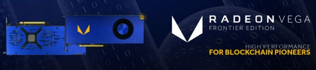 AMD Radeon Vega Frontier Edition For Blockchain Pioneers
