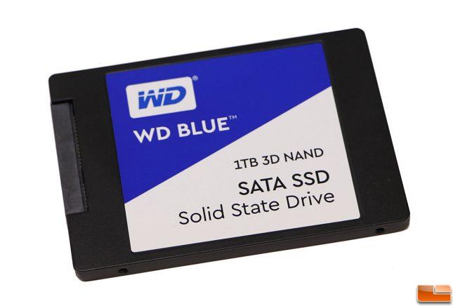 WD Blue 1TB 3D NAND SSD