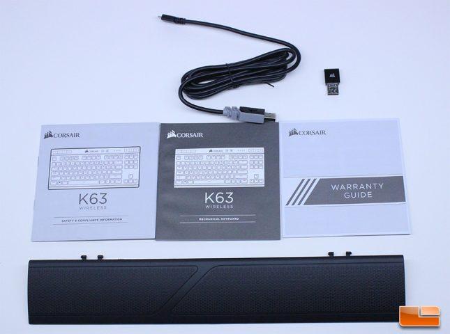 Corsair K63 Wireless Accessories