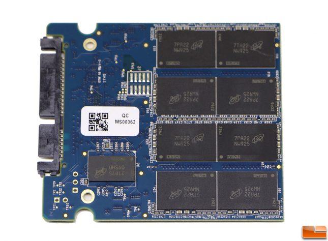 Crucial MX500 1TB SSD PCB
