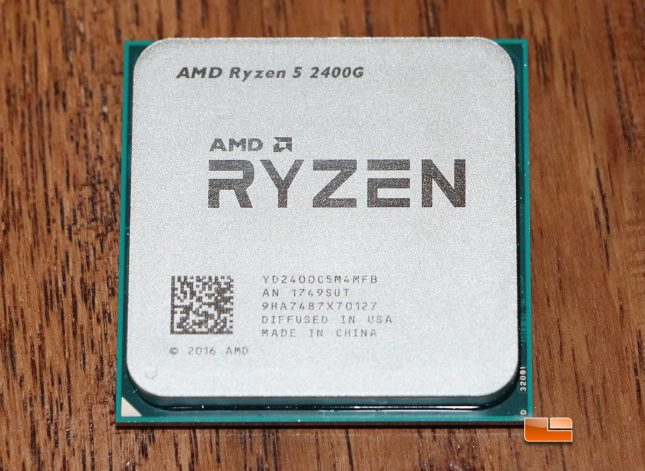 AMD Ryzen 5 2400G Desktop Processor