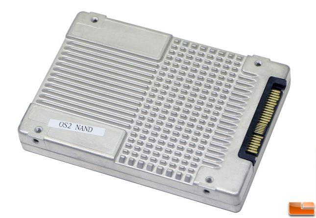 Intel SSD DC P4510 8TB Drive Back