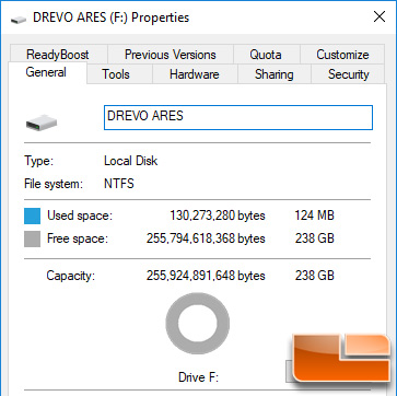DREVO ARES Free Space
