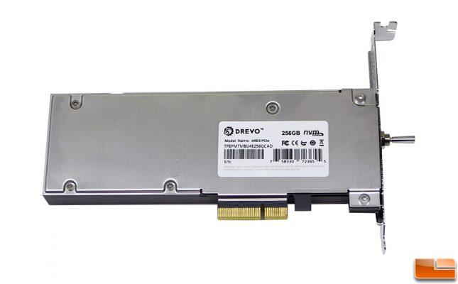 DREVO ARES SSD Back