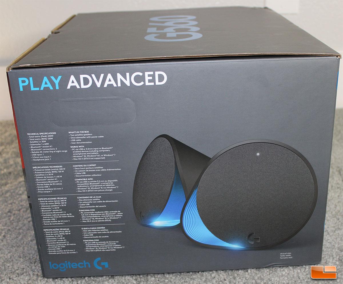 Logitech G560 RGB PC Gaming Speakers Review - Legit
