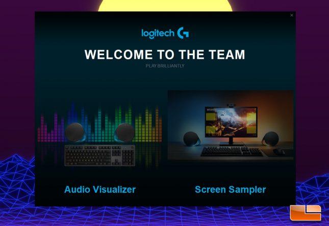 Logitech G560 - LGS Splash Screen