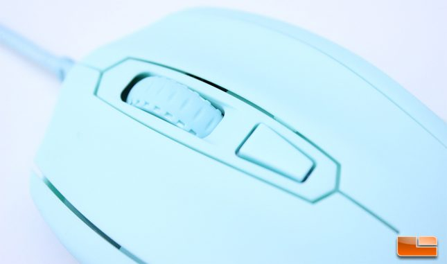 Mionix Castor - Scroll and Main Buttons