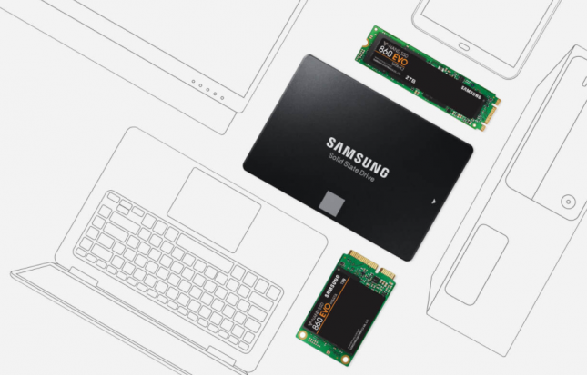 Samsung SSD 860 EVO Series