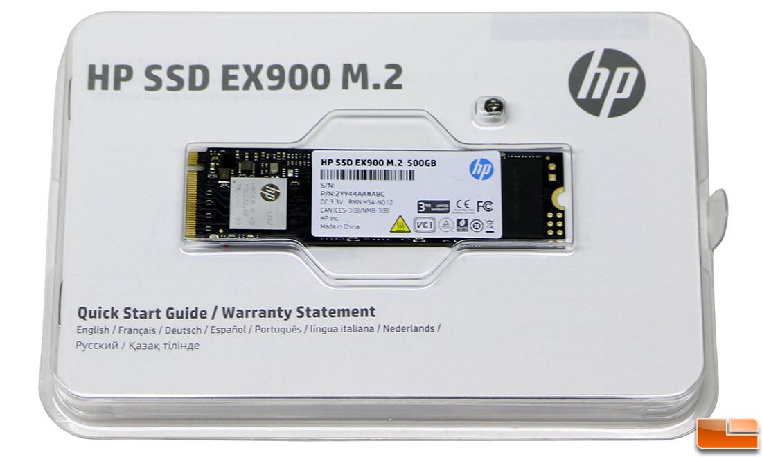 HP EX900 500GB M 2 PCIe NVMe SSD Review - Legit ReviewsHP