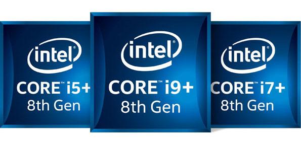 Intel Core i5+, i7+ and i9 Badges