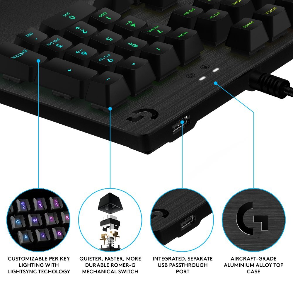 Logitech G513 Carbon RGB Gaming Keyboard Review - Page 2 of