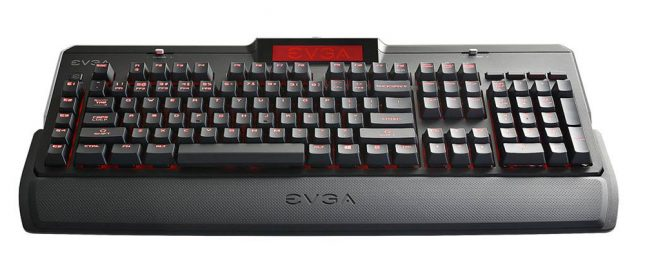 EVGA Z10 Gaming Keyboard On