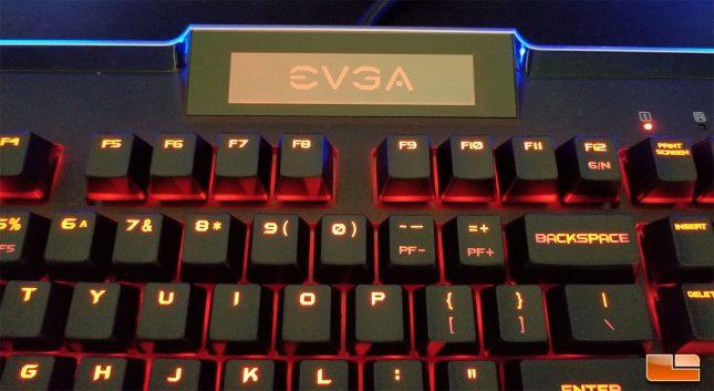 EVGA Z10 - Logo on LCD