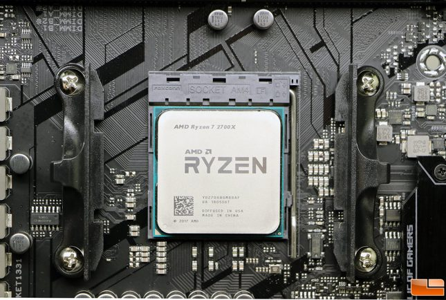 AMD Ryzen 7 2700X CPU