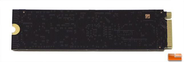 WD Black 3D NVMe SSD PCB Back